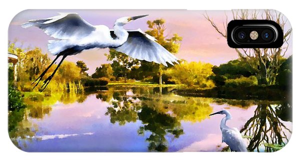 Heavens Lake IPhone Case