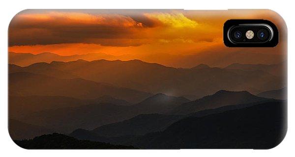 Heaven's Light On The Blue Ridge Parkway IPhone Case