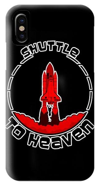 Heavens Shuttle IPhone Case
