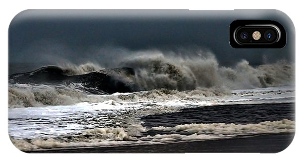 Stormy Surf IPhone Case