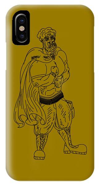 Hebrew Hero IPhone Case