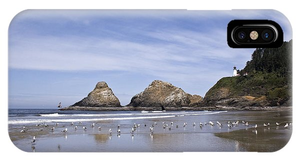 Heceta Head Lighthouse 1 IPhone Case