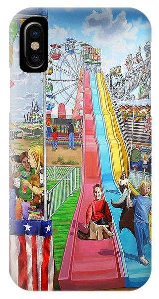 Hecksher Park Fair IPhone Case