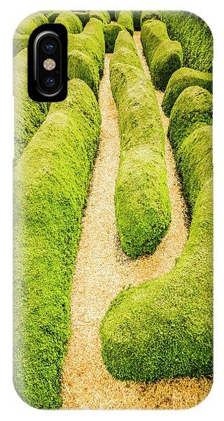 Botanical Garden iPhone Case - Hedging An Escape by Jorgo Photography - Wall Art Gallery