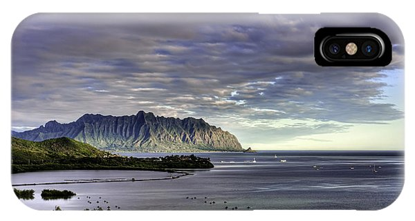 He'eia And Kualoa 2nd Crop IPhone Case