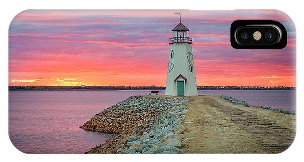Ok iPhone Case - Hefner Sunset IIi by Ricky Barnard