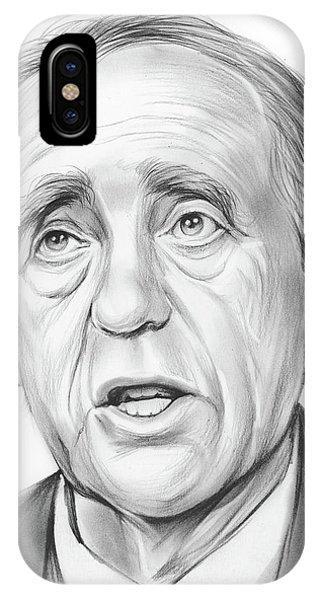 Nobel iPhone Case - Heinrich Boll  by Greg Joens