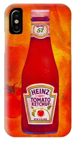 Heinz Tomato Ketchup IPhone Case