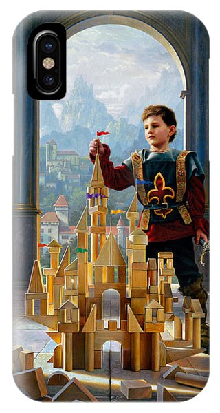 Castle iPhone X / XS Case - Heir To The Kingdom by Greg Olsen