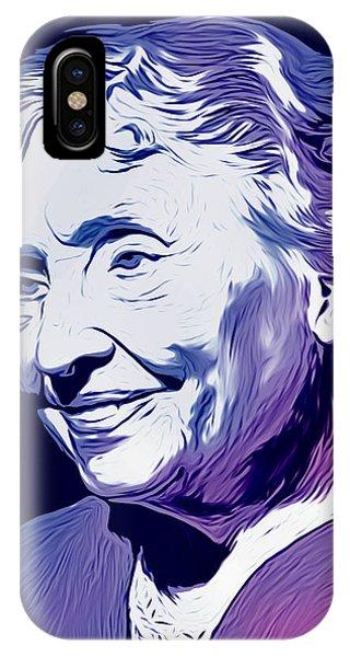 Helen Keller IPhone Case