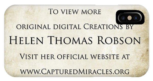 Helen Thomas Robson IPhone Case