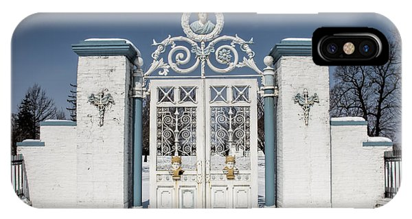 Helis Stock Farm Gate IPhone Case
