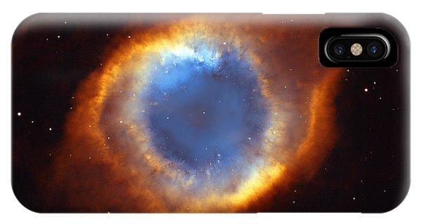 Solar System iPhone Case - Helix Nebula by Ricky Barnard