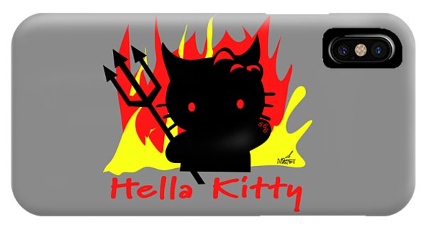 Hella Kitty IPhone Case