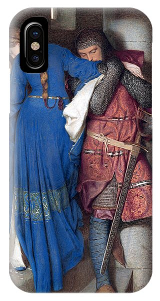 Hellelil And Hildebrand Or The Meeting On The Turret Stairs IPhone Case