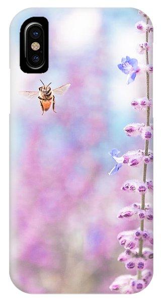 Honeybee iPhone X Case - Hello Honeybee by Debi Bishop