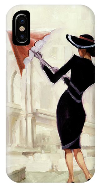 1950s iPhone Case - Hello New York by Steve Henderson