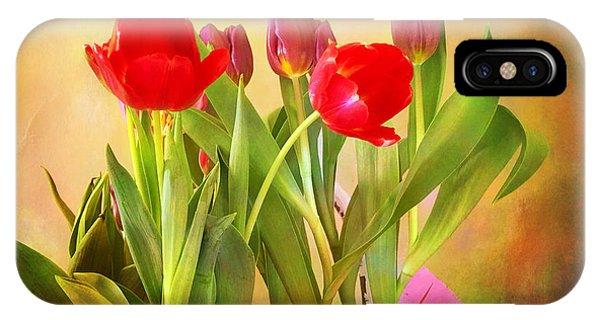 Hello Spring IPhone Case