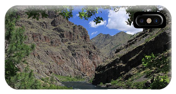 Hells Canyon Snake River IPhone Case