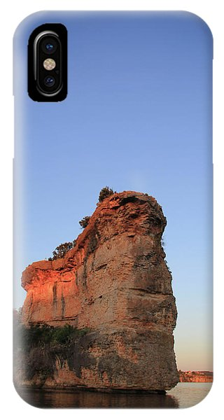 Hell's Gate With Moon IPhone Case