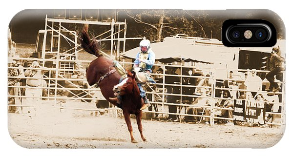 Helluva Rodeo-the Ride 3 IPhone Case