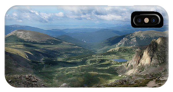 Helms Lake Valley 2 IPhone Case