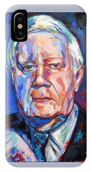 Helmut Schmidt IPhone Case