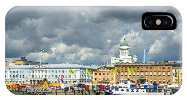 Helsinki, South Harbor IPhone Case