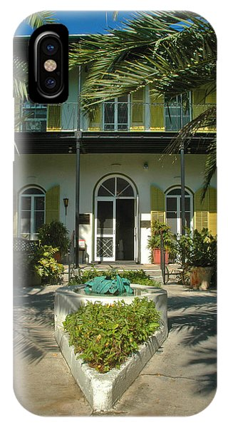Hemingways House Key West IPhone Case