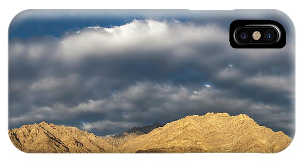 IPhone Case featuring the photograph Hemis Panorama, Karu, 2005 by Hitendra SINKAR