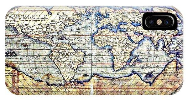 Hemisphere World  IPhone Case