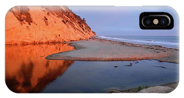 iPhone Case - Hendry's Beach Reflections by Kathy Yates