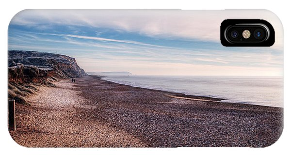 iPhone Case - Hengistbury Head And Beach by Chris Day