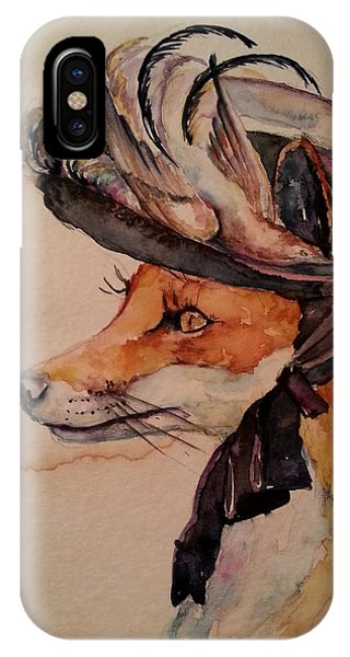 Henrietta Fox IPhone Case