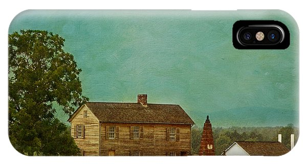 Henry House At Manassas Battlefield Park IPhone Case