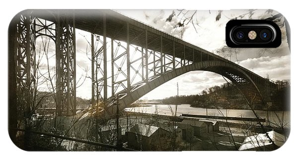 Henry Hudson Bridge, 1936 IPhone Case
