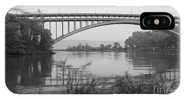 Henry Hudson Bridge  IPhone Case