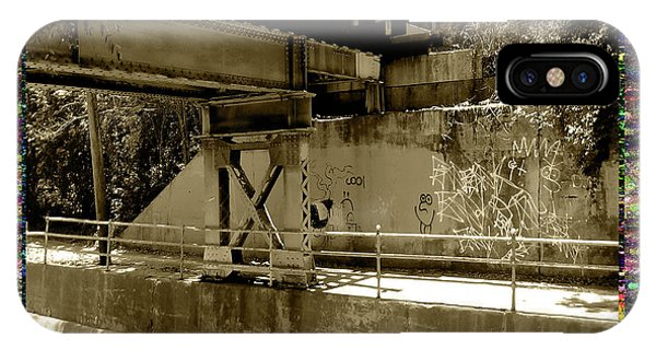 IPhone Case featuring the photograph Henry Street Underpass Number 2 by Aberjhani