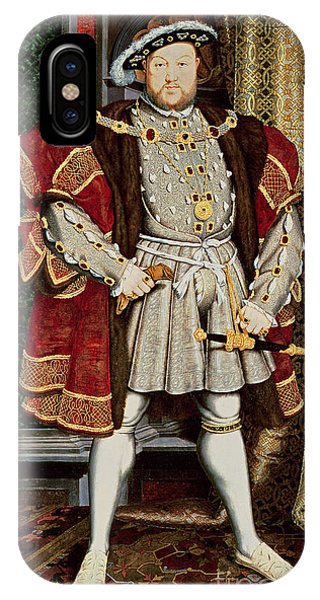 Proud iPhone Case - Henry Viii by Hans Holbein the Younger