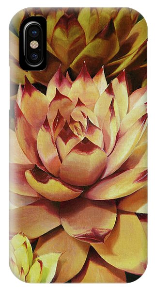 Hens And Chicks Phone Case by Lori Seward