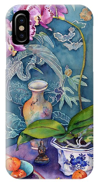 Fantasy Realistic Still Life iPhone Case - Her Labyrinth by Bonny Lundy