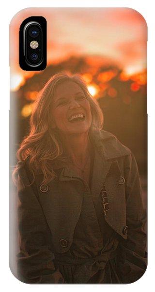 Her Laugh IPhone Case