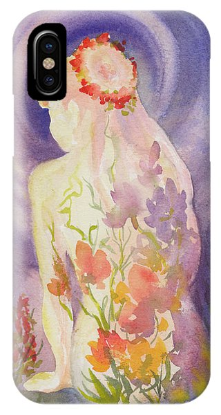 Herbal Goddess  IPhone Case