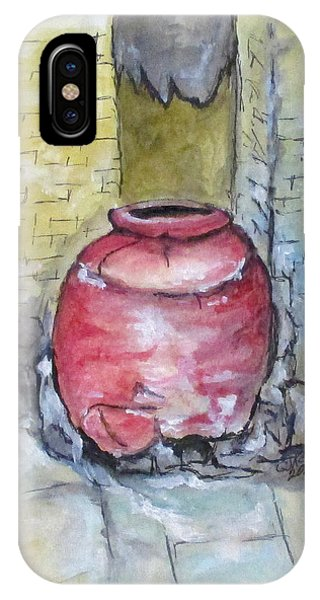 Herculaneum Amphora Pot IPhone Case