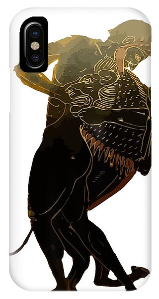 Hercules And The Nemean Lion IPhone Case