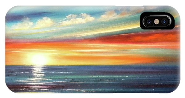 Here It Goes - Panoramic Sunset IPhone Case