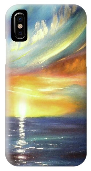 Here It Goes - Vertical Colorful Sunset IPhone Case