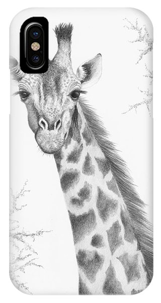 IPhone Case featuring the drawing Here's Looking At You by Phyllis Howard