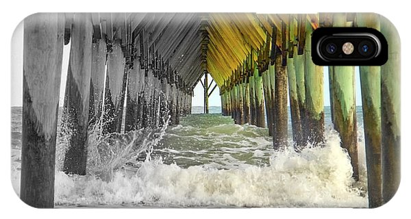 Oceanfront iPhone Case - Here's Your Light At The End Of The Tunnel by Betsy Knapp
