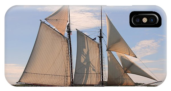 Heritage Full Sail IPhone Case